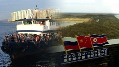 呼籲香港政府參考防川的例子,早日為進出荔枝窩村的人們提供方便程序,免禁區紙經過沙頭角範圍前往碼頭登船。(維基百科合成圖)