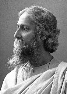 印度詩人泰戈爾,與梁啟超同為20世紀初亞洲知識分子的代表。(Wikimedia Commons)