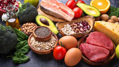 從食物攝取的營養要均衡,方能保持身體健康。(Shutterstock)