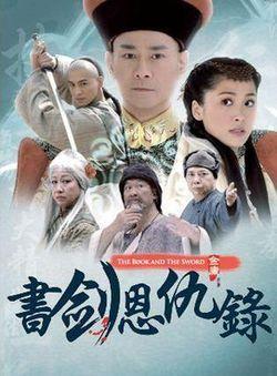 香港的電視劇集始於鄭少秋主演的《書劍恩仇錄》,約在七十年代後期。(Wikimedia Commons)