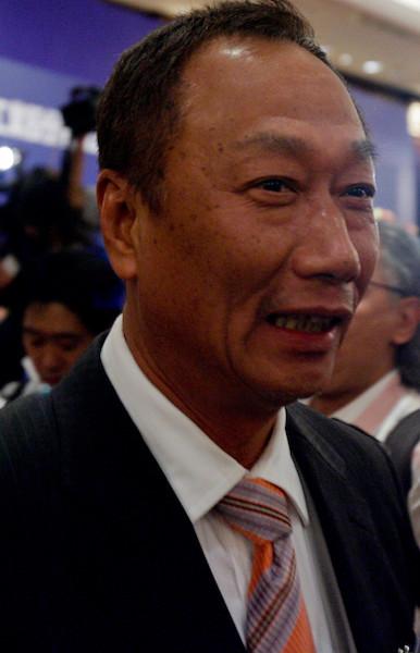 國民黨通過初選和協商,若能推出郭台銘為唯一的「總統」候選人,其他參選者「眾星拱月」,則大有希望在2020年5月重新執政。(亞新社)