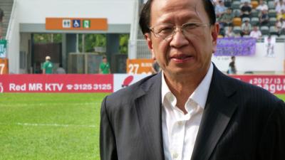 貝鈞奇上任那天對記者說,不希望大球場被拆卸,當戴上足總主席這頂帽,有這番說話亦很正常。(Wikimedia Commons)