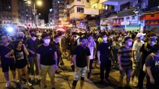 香港政府與示威者之間的巨大鴻溝
