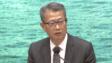 陳茂波表示,本港經濟第二季下行壓力顯著,近月情況更嚴峻。(有線電視新聞截圖)