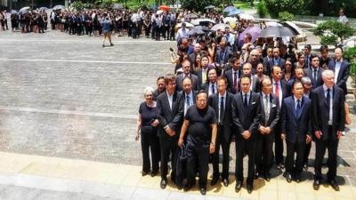 三千法律界黑衣遊行 反對政治檢控 3000 Lawyers March Against Political Prosecutions
