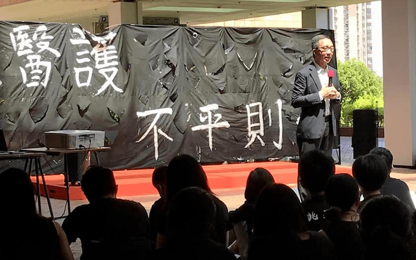 我們所做的,到底是對症下藥,解決問題,又能否做到「先勿傷害」?(HKU Medicine Facebook)