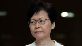 林鄭月娥否認撤回修例為《緊急法》鋪路