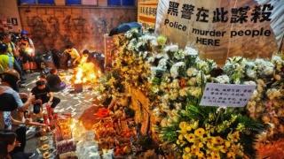 太子站重陽追思會 悼念反送中亡魂 Chung Yeung Memorial Service at Prince Edward Mourns Anti-extradition Deaths