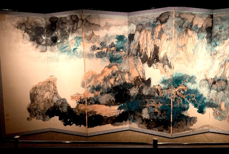 張大千的《夏山隱居》,是送給女兒的嫁妝。