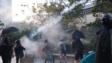 根據《理大校園電台》臉書專頁貼文,早上8點7分左右,警方在理大周圍發射7枚催淚彈。