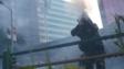 警民衝突出現的暴力行為,使市民對香港的法治起了疑問,連自己的法治觀念也變得迷糊。(亞新社)