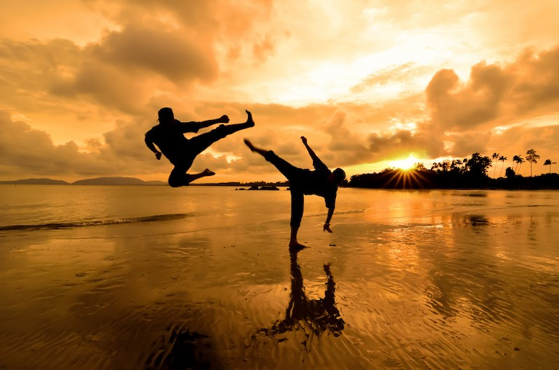 不少武林軼事充滿傳奇色彩,是拍功夫電影的好題材。(Shutterstock)