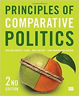 作者在過去的一個學期,修讀了比較政治學。