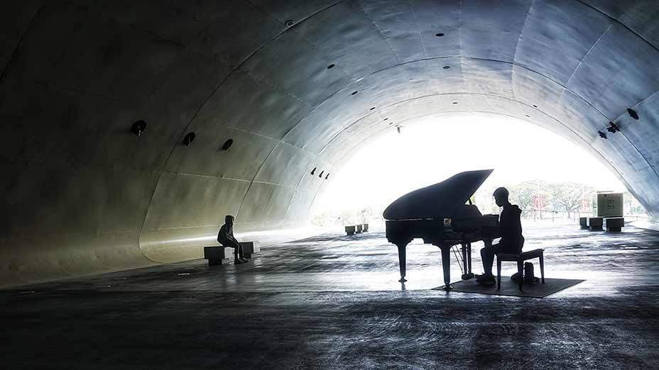 未來鋼琴家在高雄衛武營國家藝術文化中心 Future Pianist at National Kaohsiung Centre for the Arts
