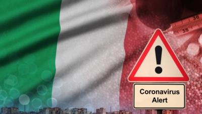 政府將現時對意大利艾米利亞—羅馬涅、倫巴第及威尼托三個地區生效的紅色外遊警示擴展至意大利全國。(Shutterstock)