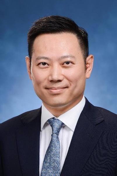 新任民政事務局局長徐英偉(政府新聞處)