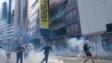 林行止呼籲,為了避免「港元因此經常處於風雨飄搖之中和各種消極影響」,北京採取較溫和的策略為香港立法,也許是明智的做法。(亞新社)