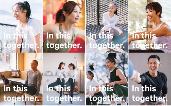 Since February, Lululemon's near 30 men/women strong ambassadors have been actively giving out free yoga lessons through social media networks like Douyin and Keep
