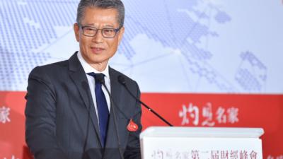陳茂波認為,在考慮國家安全這課題時,不宜單純以香港本位的角度思考,更需要從國家層面、從國際關係的大局中作整體的研判及考量。(灼見名家圖片)