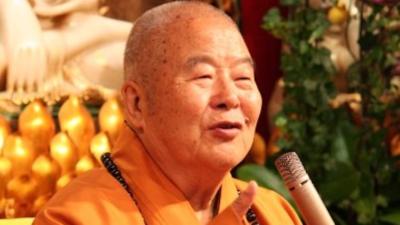 星雲大師掛念徒眾是否能接好衣缽,團結一致,集體創作,光大佛教,續佛慧命,繼續把人間佛教發揚於全球。(Wikimedia Commons)