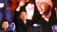 韓國瑜當選高雄市長後不久就決定承接人氣參加總統大選,結果不但落選,後來更被罷免市長一職。 (亞新社)