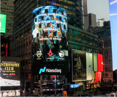 The beauty of this was vividly demonstrated by the successful listing in Nasdaq of the world's first (and so far, the only) esports club, Astralis from Denmark. (Twitter of Astralis)