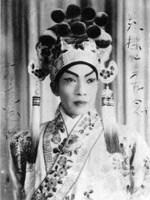 1954年,薛覺先出演出《闖王進京》中的李岩。(香港大學美術博物館)