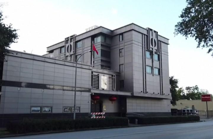 中方拒絕關閉駐休斯敦領事館,且看美方如何反應。(美國之音視頻截圖)