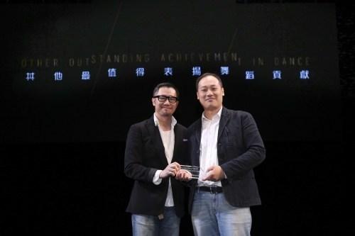 2015年,Maurice獲香港舞蹈聯盟頒發「香港舞蹈年獎——最值得表揚舞蹈錄像及攝影」。(Mark Lam)