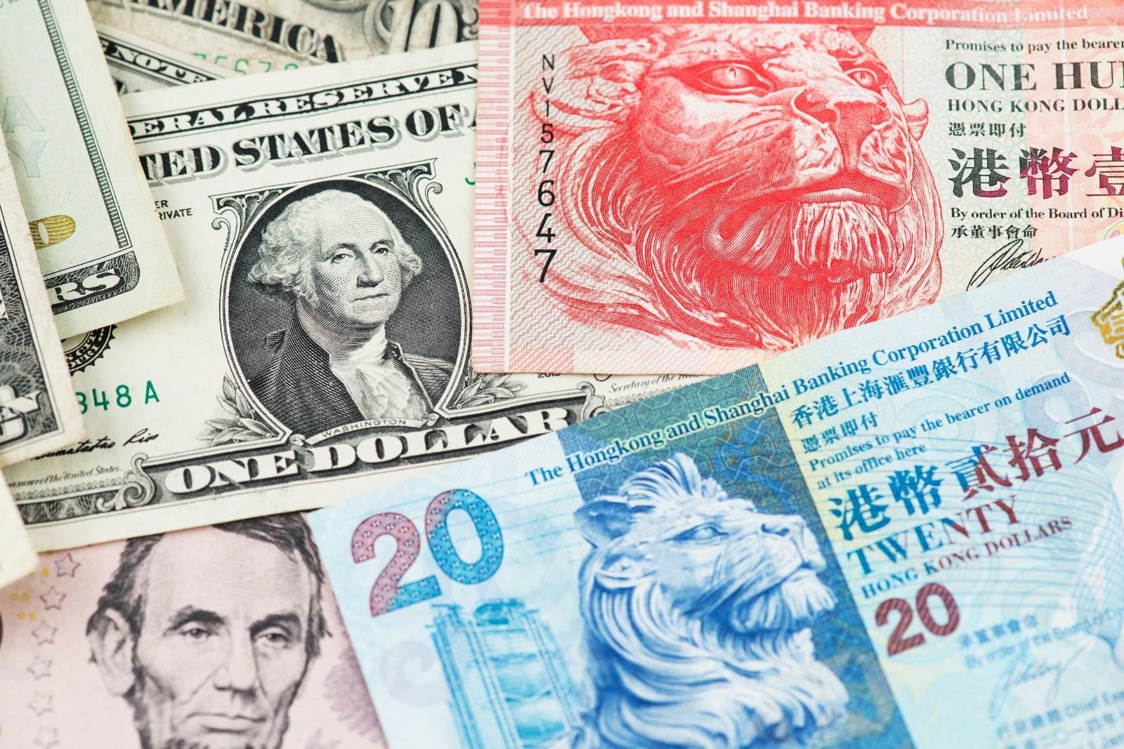 美國若打擊香港聯匯制度,中國可從美債或美股大幅撤資,對美元資產造成的影響可能超過削弱香港聯匯制度對港幣的影響。(Shutterstock)