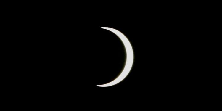 6月21日日食在此宮在香港分野中天附近,這是個不祥之兆。(亞新社)