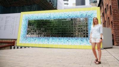 莎拉探索大館 Zara Gibson Explores Tai Kwun