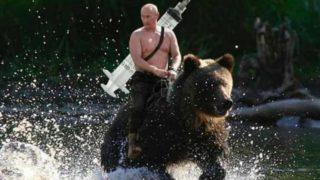 普京Facebook貼神圖 稱俄羅斯拯救世界