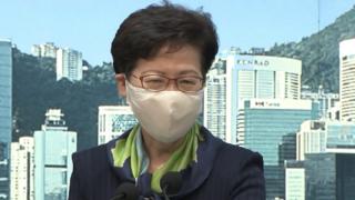 林鄭月娥:《港區國安法》儆惡懲奸 絕不被美國制裁嚇倒
