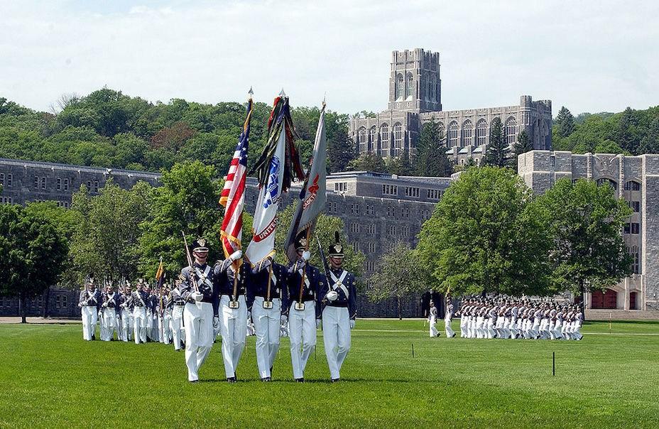 西點是美國第一所軍校,也是培養美國陸軍軍官的機構。(Wikimedia Commons)