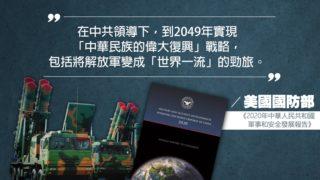 美發表中國軍力報告 料10年內擁400枚核彈頭