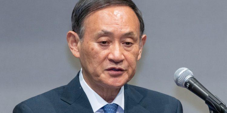 新任日本自民黨總裁菅義偉認為,構建「亞洲版北約」之說,「可能在亞洲製造敵人,變成反華包圍網」,是不正確的。(亞新社)
