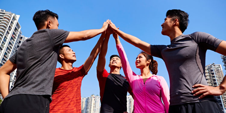團隊精神最大的信念就是TEAM,Together Each Achieves More。(Shutterstock)