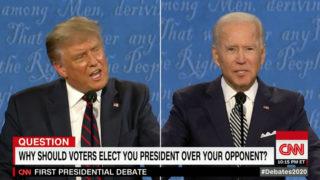 美國總統選舉電視辯論:科學政策提問與氣候變化