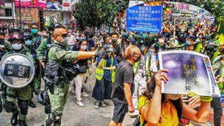 10‧1國殤大遊行又被禁 六千防暴警部署鎮壓 6000 Riot Police Deployed as National Day Protest March Banned Again