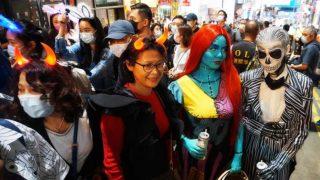 蘭桂坊萬聖節街道派對 Halloween Street Party at Lan Kwai Fong