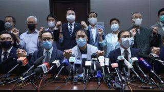 郭榮鏗等4人喪失議員資格 泛民集體總辭