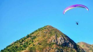 昂平滑翔傘勝地 Paragliding at Ngong Ping