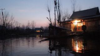 克什米爾船屋