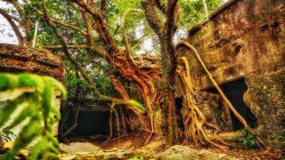 """「港版小吳哥窟」廢棄魔鬼山碉堡 Hong Kong's """"Little Angkor"""" – Abandoned Devil's Peak Battery"""