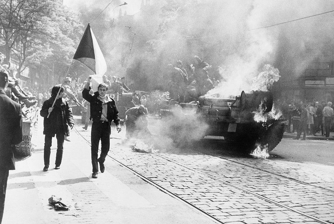 1968年的震盪始於1月的捷克首都布拉格,「布拉格之春」揭開了蘇聯東歐集團改革的序幕。(Wikimedia Commons)