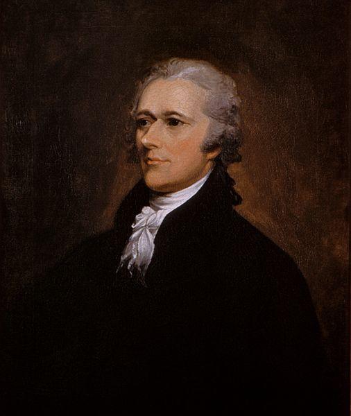 美國開國元勳、第一位財長阿歷山大‧咸美頓(A. Hamilton, 1755-1804)死於政敵槍下,便與大選結果有直接關係。(Wikimedia Commons)