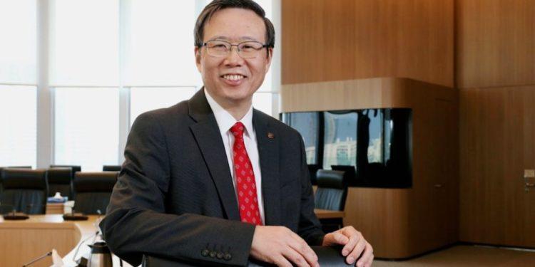 香港理工大學校長滕錦光表示,有機會讓香港科研參與此次艱巨的太空任務,感到非常驕傲及榮幸。(灼見名家圖片,攝影:文灼峰)