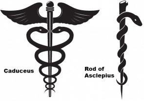 圖左是商神仗,圖右是醫神仗
