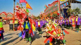 舞麒麟慶祝山厦村太平清醮 Kirin Dance to Celebrate Shan Ha Tsuen Tai Ping Ching Chiu